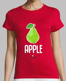 loca de frutas: manzana pera