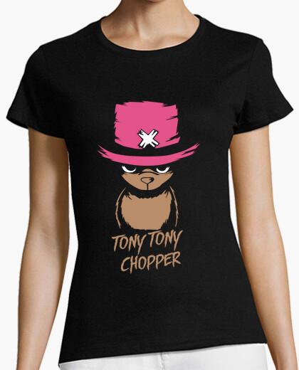 Camiseta loco chopper de una pieza del anime