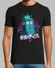 lofi time machine shirt para hombre