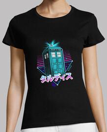 Lofi Time Machine Shirt Womens