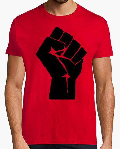 Camiseta Logo anarquista, puño
