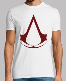 Logo Assassins Creed Rojo