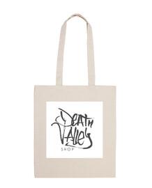 Logo blanco Death Valley Shop Bolsa