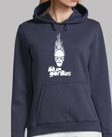 logo blu goril le frontale bianco
