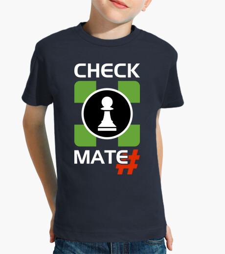 Ropa infantil Logo Check Mate