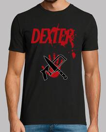 Logo Dexter - Cuchillo, Sierra y Mano