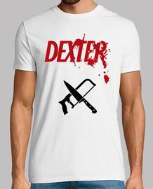 Logo Dexter - Cuchillo y Sierra