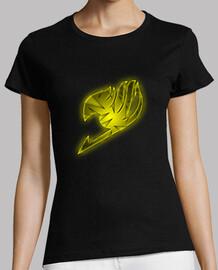 Logo Fairy Tail Amarillo para mujer
