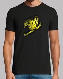Logo Fairy Tail Amarillo v2 para hombre