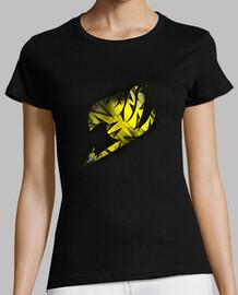 Logo Fairy Tail Amarillo v2 para mujer