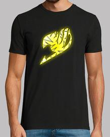 Logo Fairy Tail Amarillo y Blanco para hombre