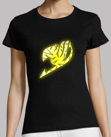 Logo Fairy Tail Amarillo y Blanco para mujer