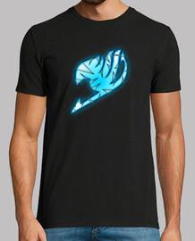 Logo Fairy Tail Azul y Blanco para hombre