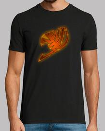 Logo Fairy Tail Naranja para hombre