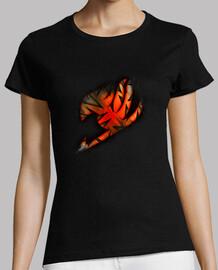 Logo Fairy Tail Naranja v2 para mujer