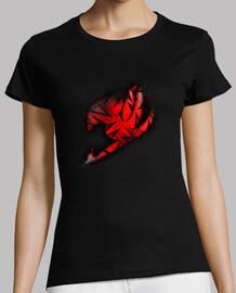 Logo Fairy Tail Rojo v2 para mujer