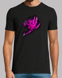 Logo Fairy Tail Rosa v2 para hombre