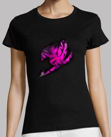 Logo Fairy Tail Rosa v2 para mujer