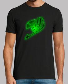 Logo Fairy Tail Verde para hombre