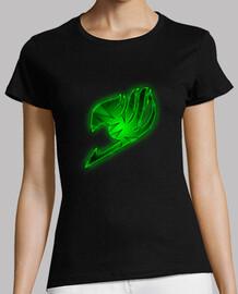 Logo Fairy Tail Verde para mujer