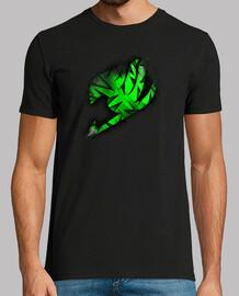 Logo Fairy Tail Verde v2 para hombre