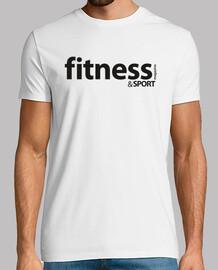 Logo Fitness  Negro