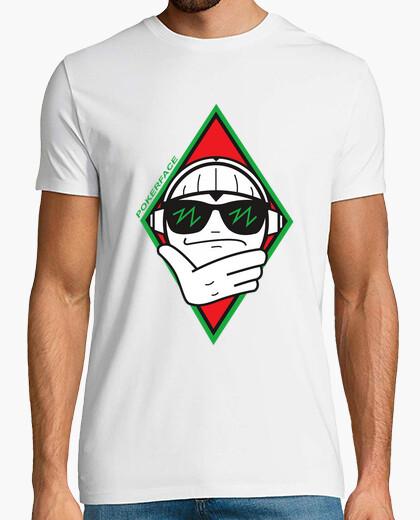 Camiseta Logo Grande Poker Face
