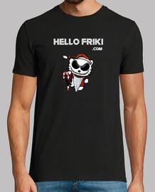 Logo Jack Skeleton Blanco - Manga corta chico
