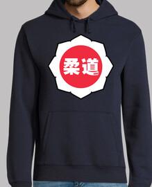 logo judo blanc-rouge-blanc