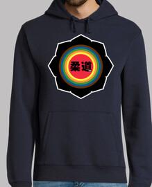 logo judo lettres noires spéciales