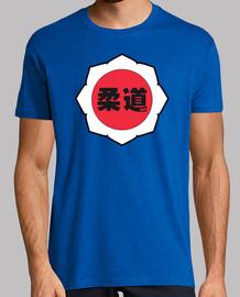 Logo Judo: White/Red/Black