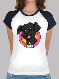 Logo Lana / Camiseta chica