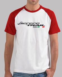 Logo Leoncino TRAIL para camisetas claras