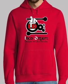 Logo Loco Drum - Rojo