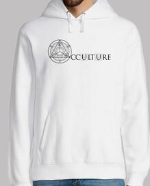 Logo Occulture Noir Sweat Homme