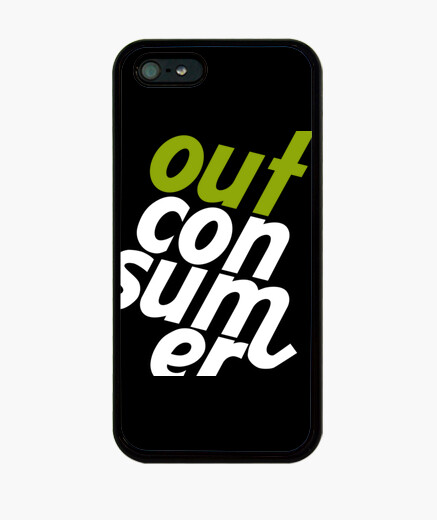 Funda iPhone Logo Outconsumer
