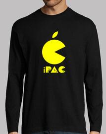 Logo pac — camiseta manga larga hombre