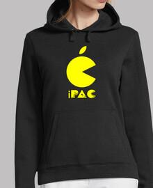 Logo pac — sudadera capucha mujer
