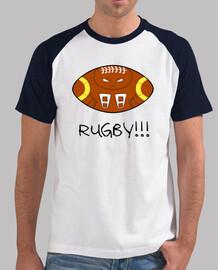 Logo para amantes del rugby. Todo un rugbyman