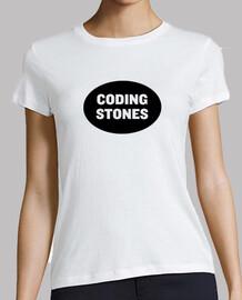 logo pietre nere di codifica