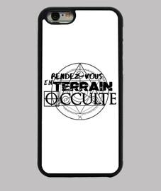 Logo RDVTO Noir coques iPhone 6/6s