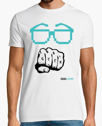 T-shirt logo rebelgeek (colore) - uomo