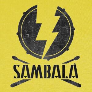 Camisetas Logo Sambalá Negro