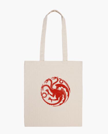 Bolsa Logo Targaryen rojo