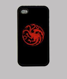 Logo Targaryen rojo