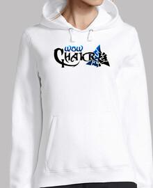 Logo WowChakra completo Azul