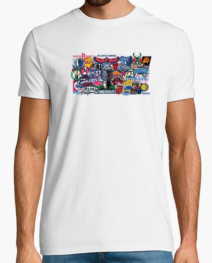 Camiseta Logos NBA