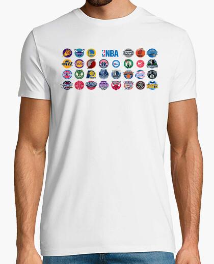 Camiseta Logos NBA 2016