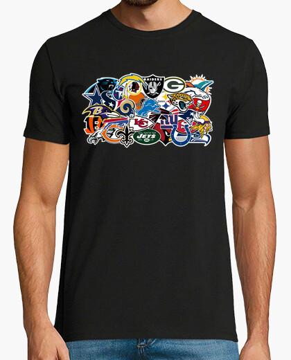 Camiseta Logos NFL