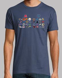 Logos NFL ordenados